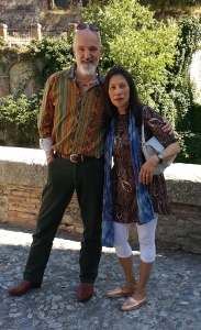 Ivette w/husband Srajan